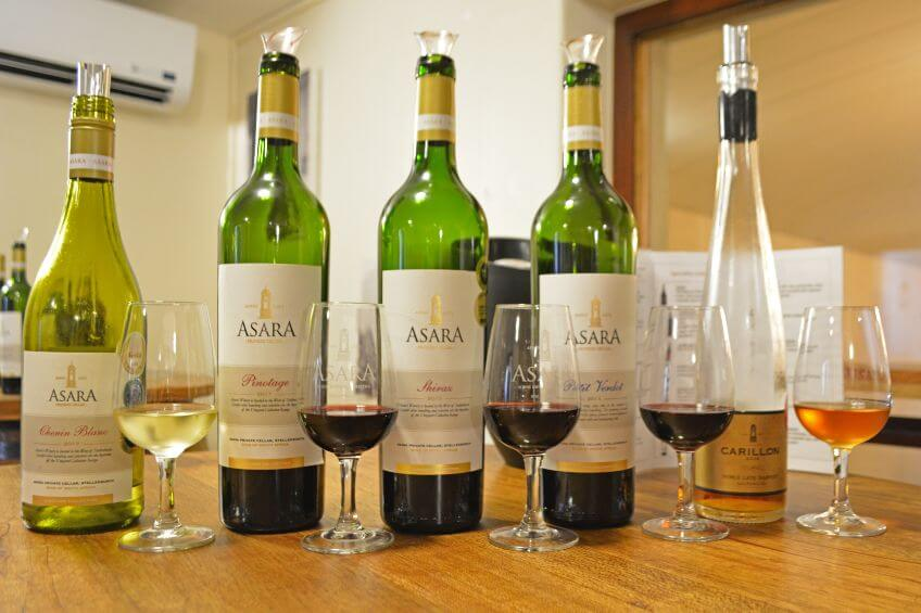 asara winery wine tasting